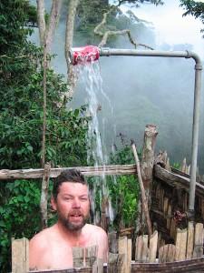 Kokoda Track shower