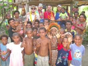 Village greeting